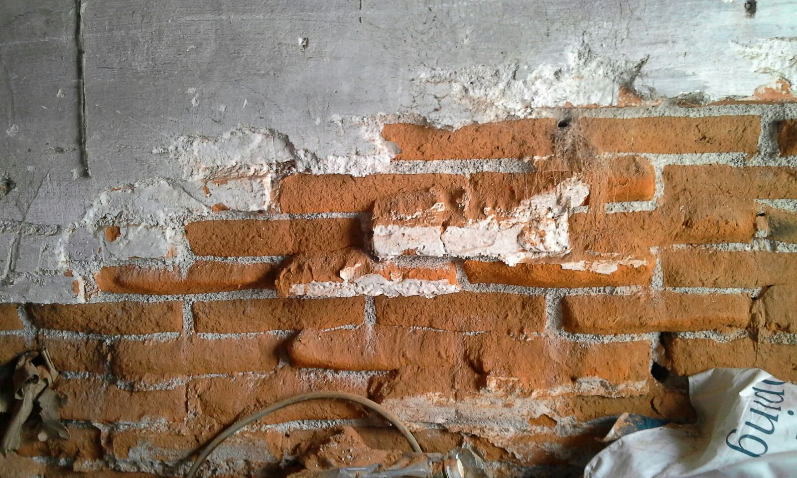 Pared de ladrillos yoreparo - Pared de ladrillo ...