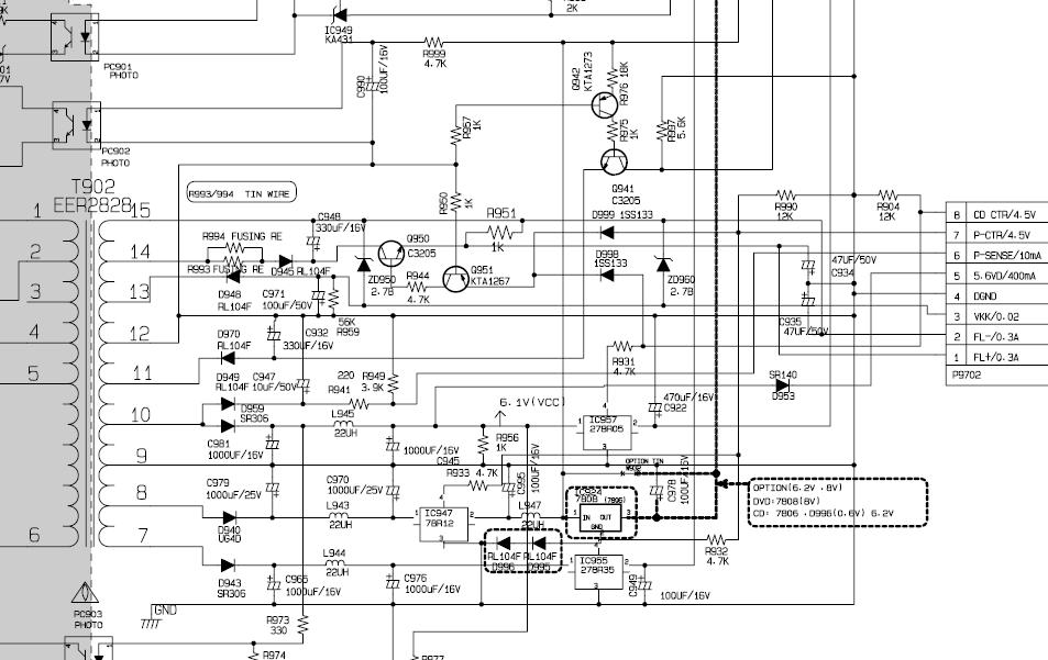 solucionado  diagrama de minicomponente lg cm8420