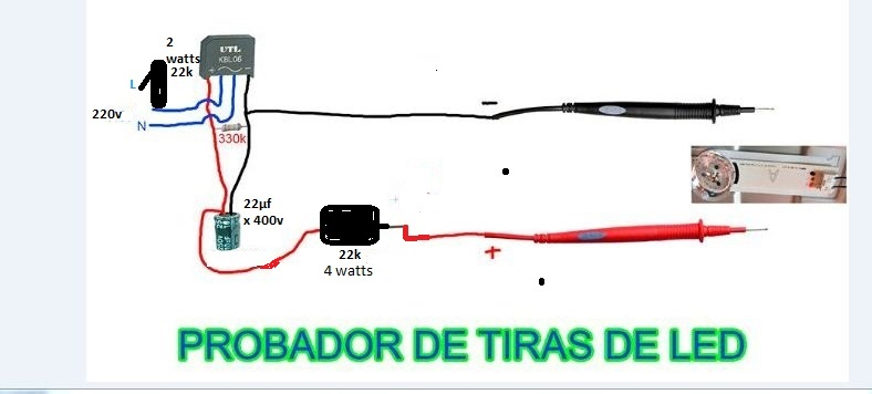 Solucionado probador de tiras led yoreparo for Tiras led para tv